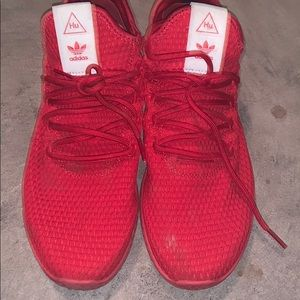 Adidas x Pharrell Williams Mens red shoes